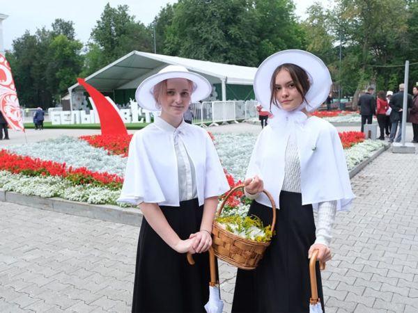 Белый цветок в Перми