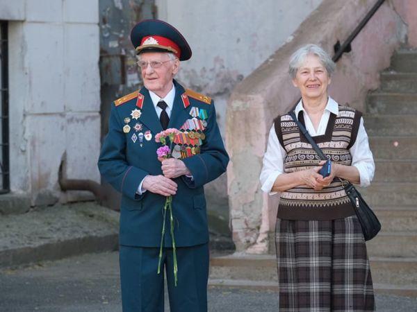 «Фронтовые бригады» поздравили ветеранов Пермского края с праздником Победы