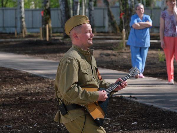 Концерт фронтовых бригад