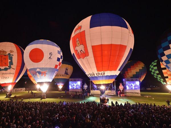 Церемонии открытия и закрытия фестиваля воздухоплавания «Небесная ярмарка Урала»