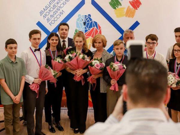 Вчера состоялись торжественные награждения участников Двадцатых молодежных Дельфийских игр России